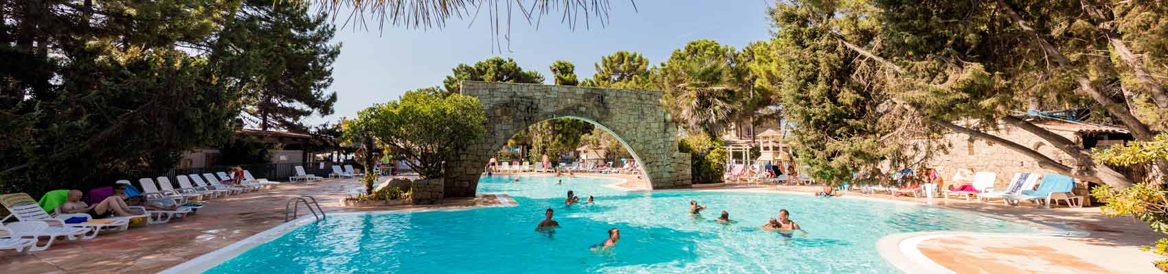 Camping 4 étoiles avec piscine Corse