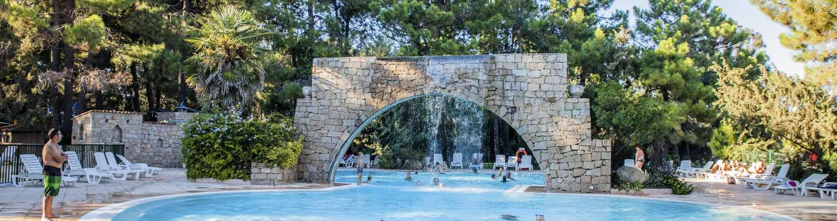 camping Corse avec espace aquatique
