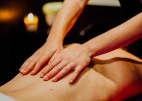 Camping massage Corse