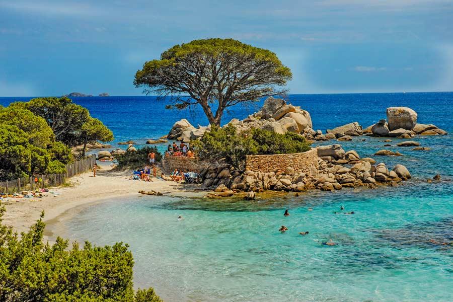 Villa Bord De Mer Corse Location Bonifacio