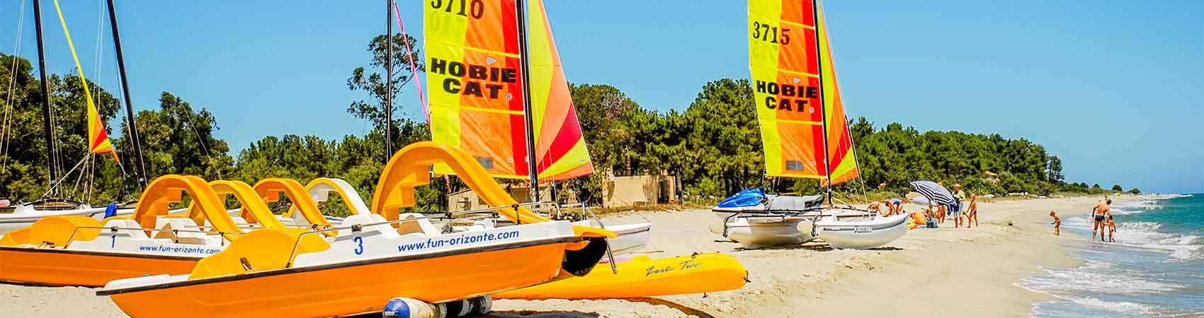 camping sportif Corse