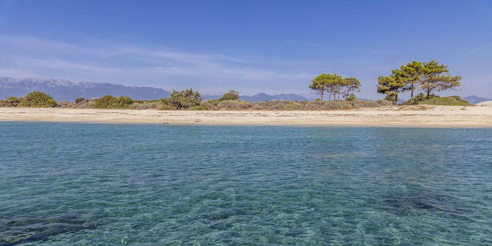Camping bord de mer Corse