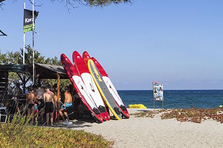 camping corse activites nautiques