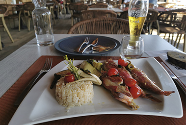 restaurant camping corse sud